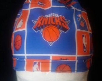 New York Knicks NBA Tie Back Surgical Scrub Hat
