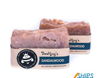 Beeswax Soap - Sandalwood (2-Pack)