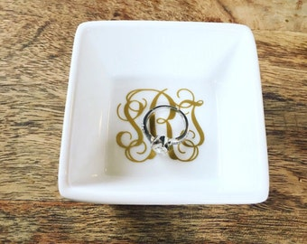 personalized ring dish ring holder wedding gift engagement gift - Wedding Ring Dish
