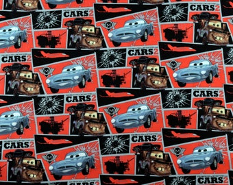Disney Fabric Cars Fabric Mater Mission Block From Springs Creative 100% Cotton