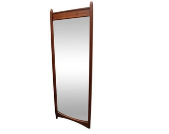 Mid-Century Mirror Danish Milo Baughman Dillingham Mirror #2