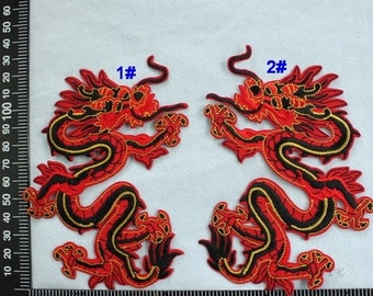 Dragon Iron on Patch Punk Applique CD116
