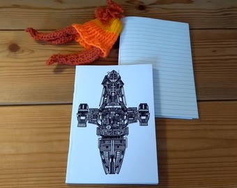 Serenity notebook (A6 Lined)
