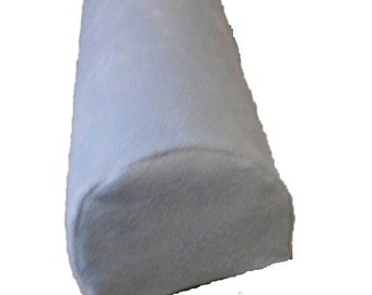 Fleece Bolster Cover - 6 Inch Three Quarter Round