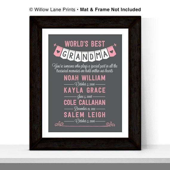 mothers day gift for grandmother gift birthday gifts for grandma
