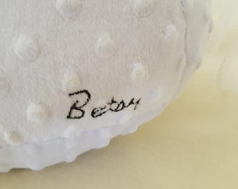 Add Embroidery (Names, Numbers, Dates) with this Listing
