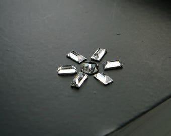 0.32 Ct Natural Loose Diamonds WHITE G-H Colour VS Clarity Baguette ( 6+1 Pcs ) BKK70