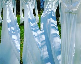 BRAND NEW 1960's Vintage Wedding Gown Original Milliken's Tag Size 10