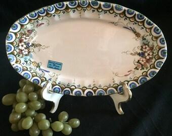 E016  Ceramic Relish dish from Greece