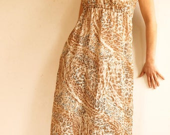 Dress Leopard: long