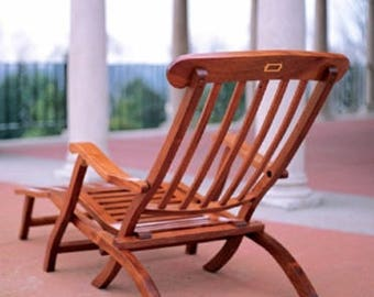 Titanic Deck Chair Woodworking Plans