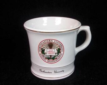 Vintage Northeastern University Mug, Boston Massachusetts, College Memento, Souvenir Mug, Collectible Mug, Ceramic Coffee Mug, Made in USA