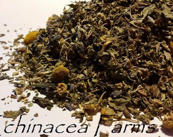 SWEETLY CALMING Herbal Blend * Smoke All Natural Tea Incense Wiccan Herb