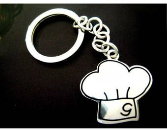Silver Keychain capello chef