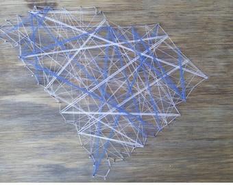 South Carolina geometric wall art