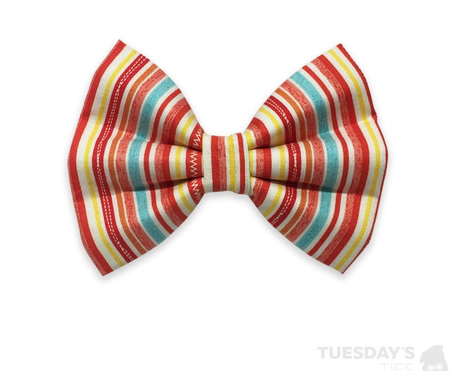 Red Stitched Stripes