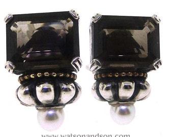 Steven Lagos Cavier Earrings