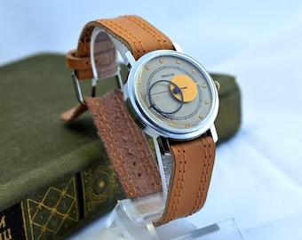 Vintage Men's Watch, RAKETA Kopernik, Rare Soviet Watch, Vintage WristWatch, Boyfriend watch, Gift for Him, Mechanical watch