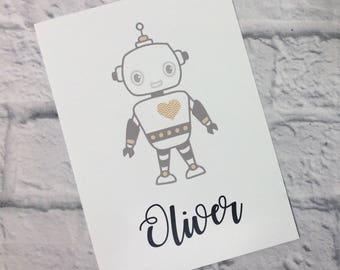 Robot Personalised Print