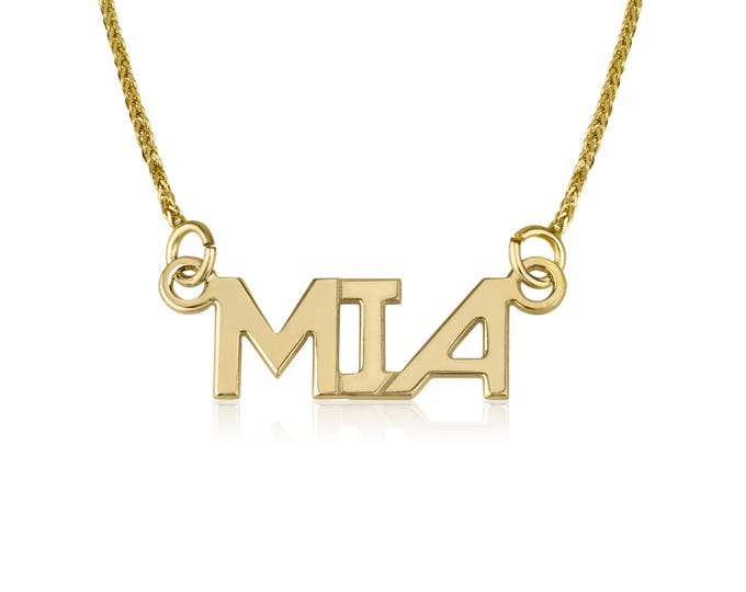 Name necklace-Personalized jewelry