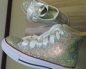 Bling Sneaker Shoes Crystal Rhinestone Customize, Personalized