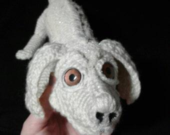 Falcor the Luck Dragon - Amigurumi Crochet Doll - The Neverending Story Inspired OOAK