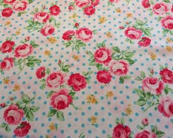 Half m  of Lecien Flower Sugar fabric