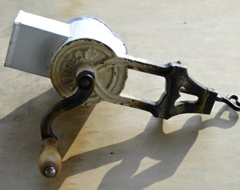 Vintage Table Mount Cheese And Nut Grinder