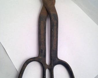 Now On Sale Vintage Crescent Brand Tin Snips Sheet Metal Tool Shears