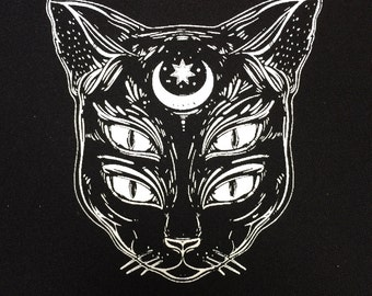Cat soul patch | patches | cat patch | punk