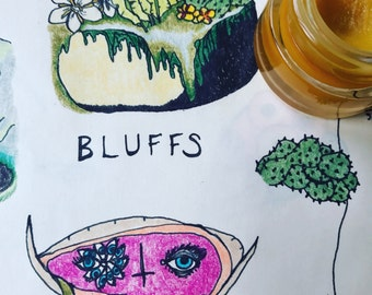 Bluffs • botanical fragrance. herbal citrus cologne with a whisper of sweet musk.