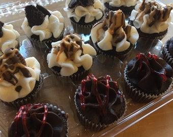 Signature Chocolate Cupcake Sampler (pick up only)