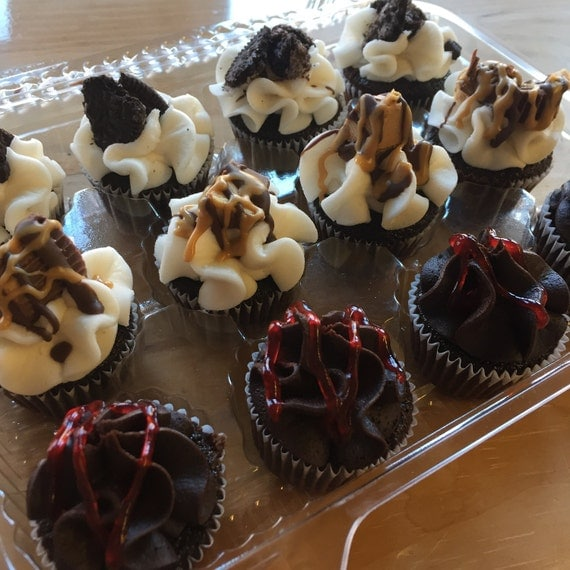 Signature Chocolate Cupcake Sampler (pick up only)