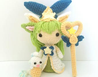 League of Legends Star Guardian Lulu Amigurumi