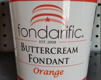 fondarific orange 2 lbs
