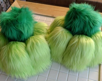 FURSUIT pair of feet any color.