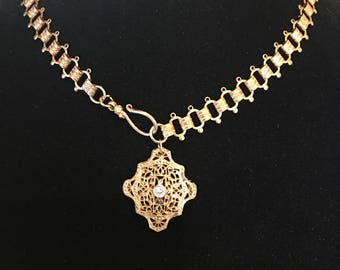 Victorian era choker made around 1900's