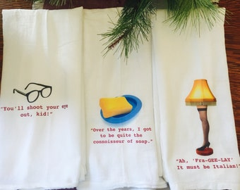 Christmas Story Tea Towel Set