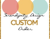 Custom Order Menu Cards