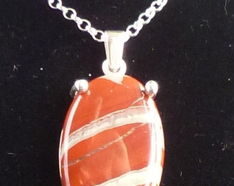 Really Nice Quality large Jasper Pendant