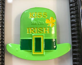 Kiss Me I'm Irish Hat Needle Minder