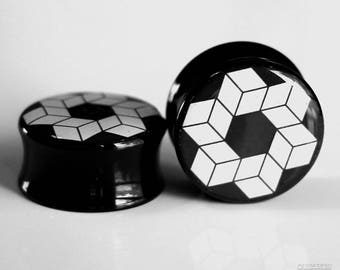 Esoteric Geometry Plugs 0g - 1""