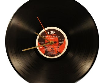 """Horloge Vinyl THE CLASH """"The Story of The Clash"""""""