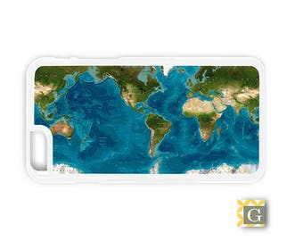 Galaxy S8 Case, S8 Plus Case, Galaxy S7 Case, Galaxy S7 Edge Case, Galaxy Note 5 Case, Galaxy S6 Case - World Oceans