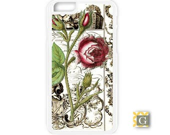 Galaxy S8 Case, S8 Plus Case, Galaxy S7 Case, Galaxy S7 Edge Case, Galaxy Note 5 Case, Galaxy S6 Case- Vintage Rose 1800's