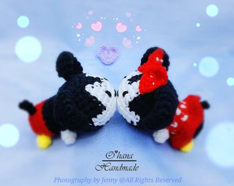 Baby Mickey and Minnie Pattern