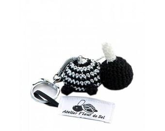Breton turtle keychain