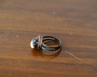 Mini Conch Shell Ring