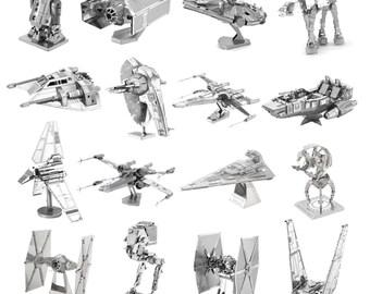 Star Wars Miniature Metal Self Build Model Kits