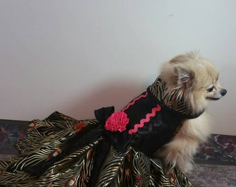 Dog emparial  gown